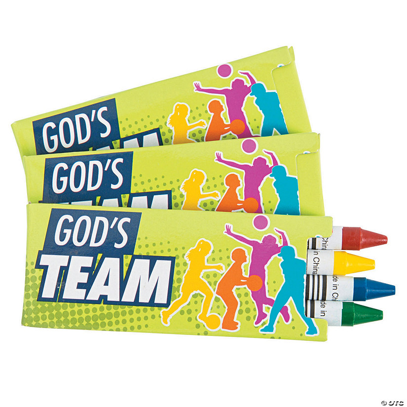 Sports VBS Crayons