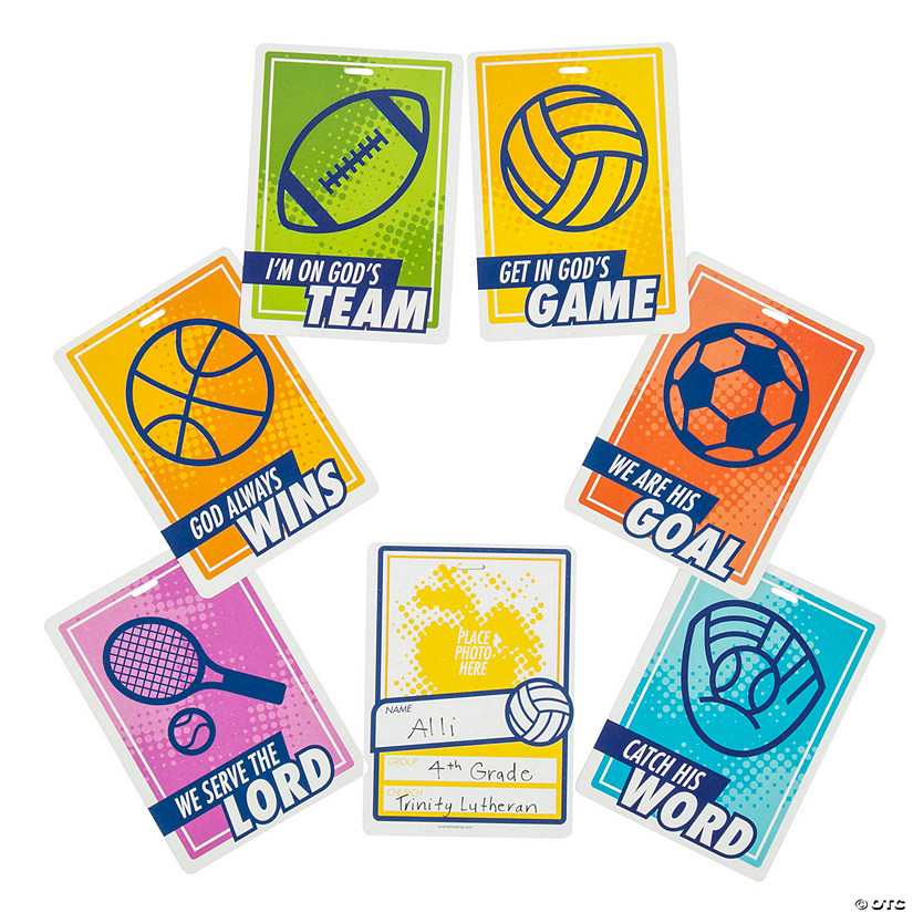 Sports VBS Photo Cards