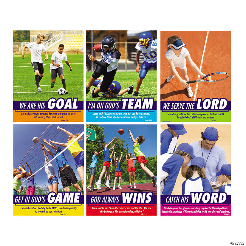 Sports VBS Poster Set