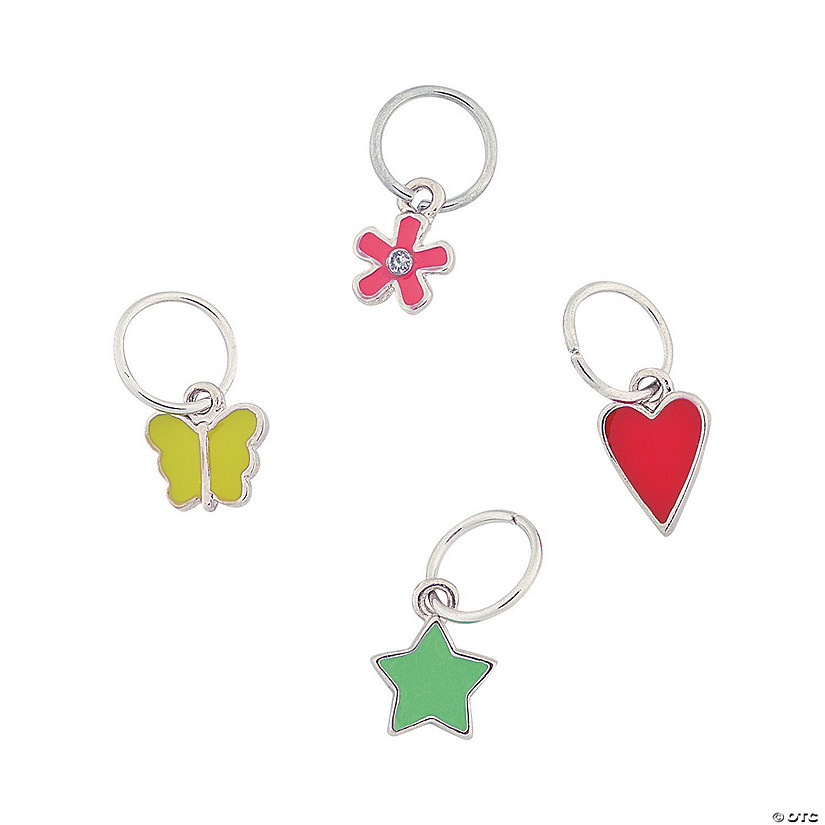 Spring Dangle Enamel Charms
