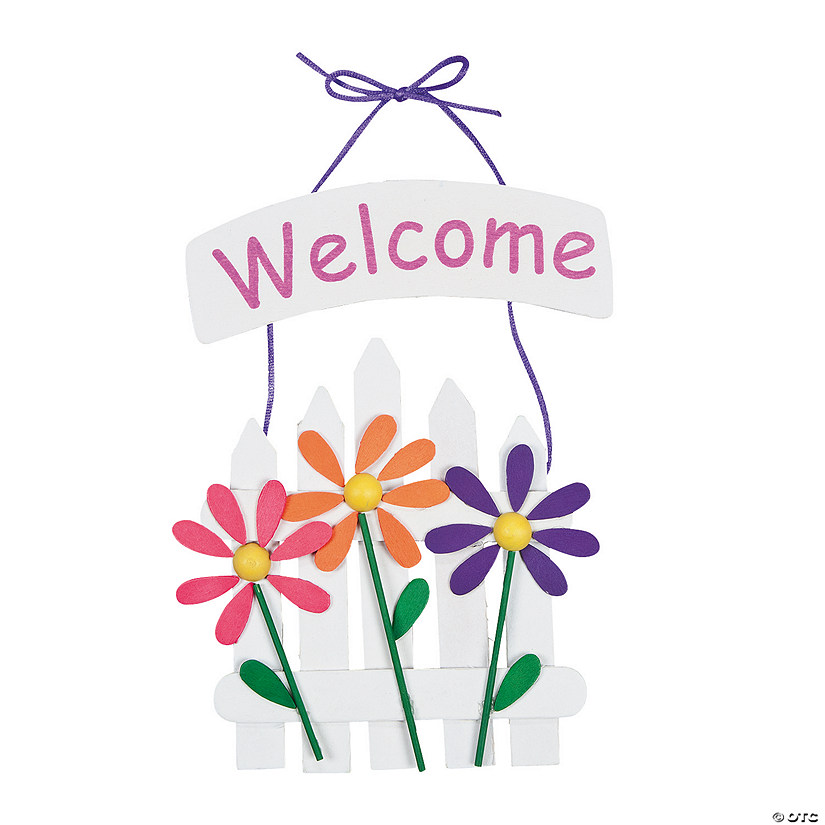 Spring Welcome Sign Craft Kit