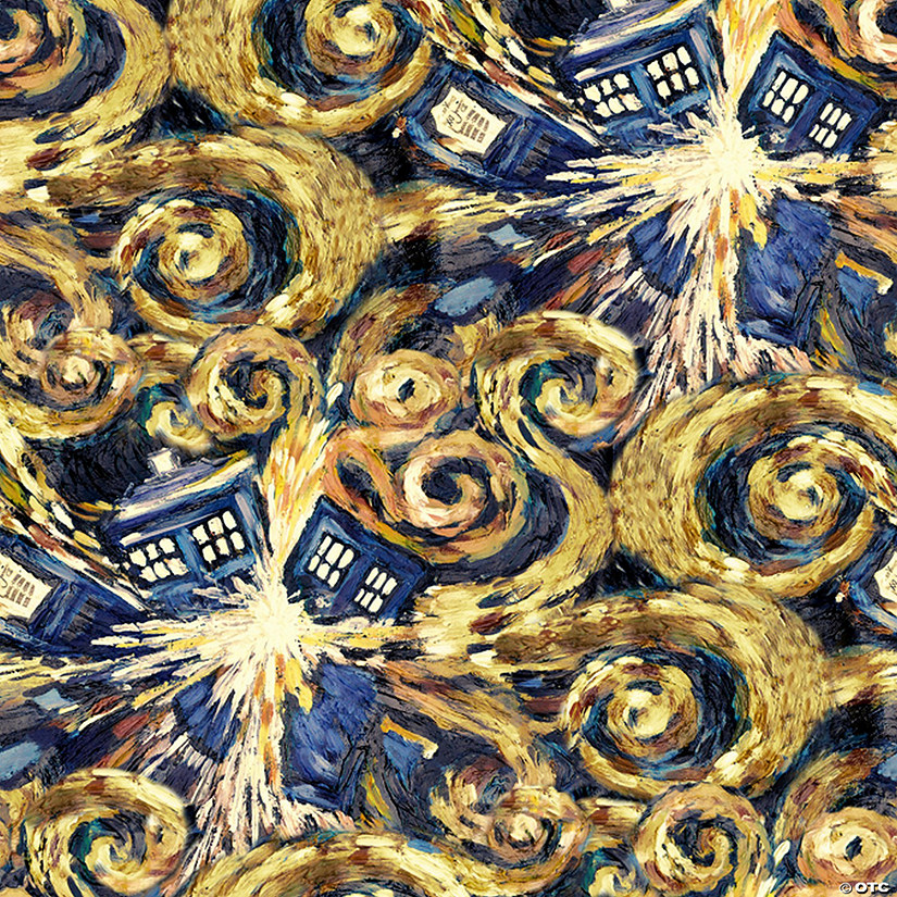 "Springs Creative BBC-Doctor Who 43/44"" Wide 100% Cotton 15yd D/R"