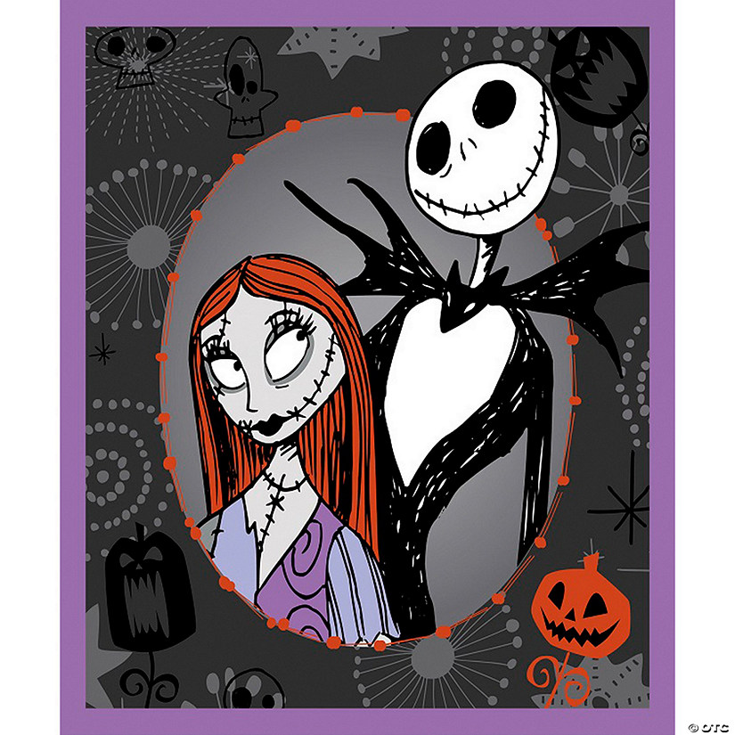 "Springs Creative-Disney-Nightmare Before Christmas 43/44"" 100% Cotton 15yd D/R"