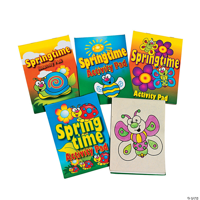 Springtime Activity Pad Assortment