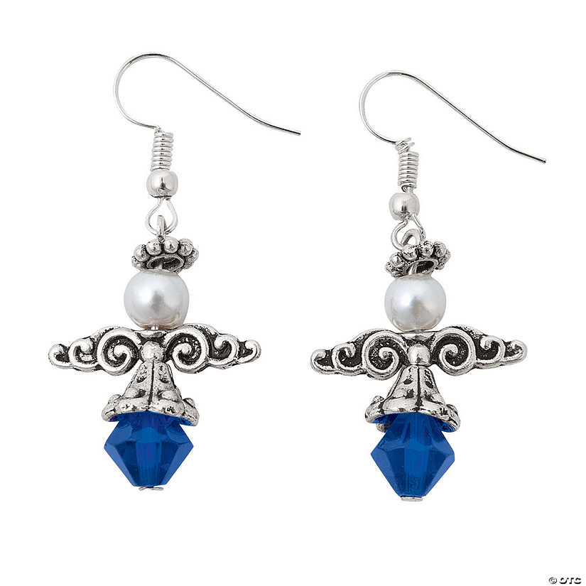 St. Blue Angel Earrings Craft Kit