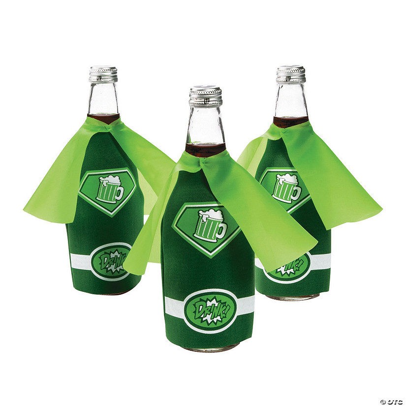 St. Patrick's Day Bottle Coolers with Cape
