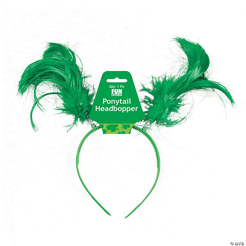 St. Patrick's Day Ponytail Headboppers