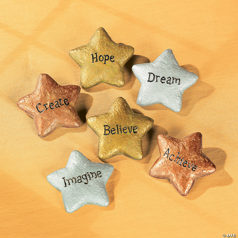 Star-Shaped Graduation Stones
