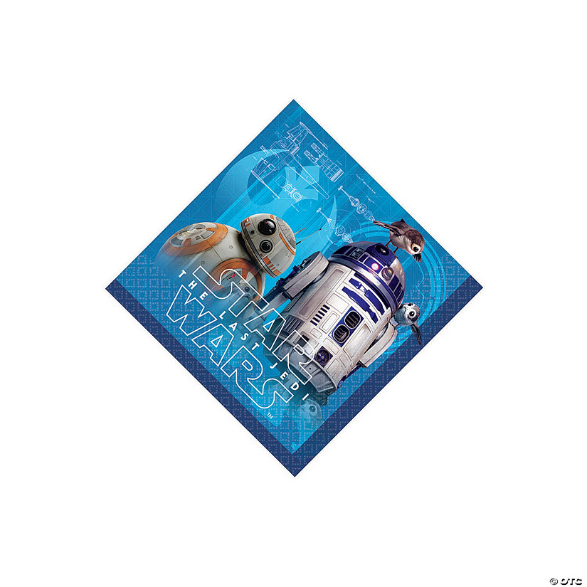 Star Wars™ Episode VIII: The Last Jedi Beverage Paper Napkins