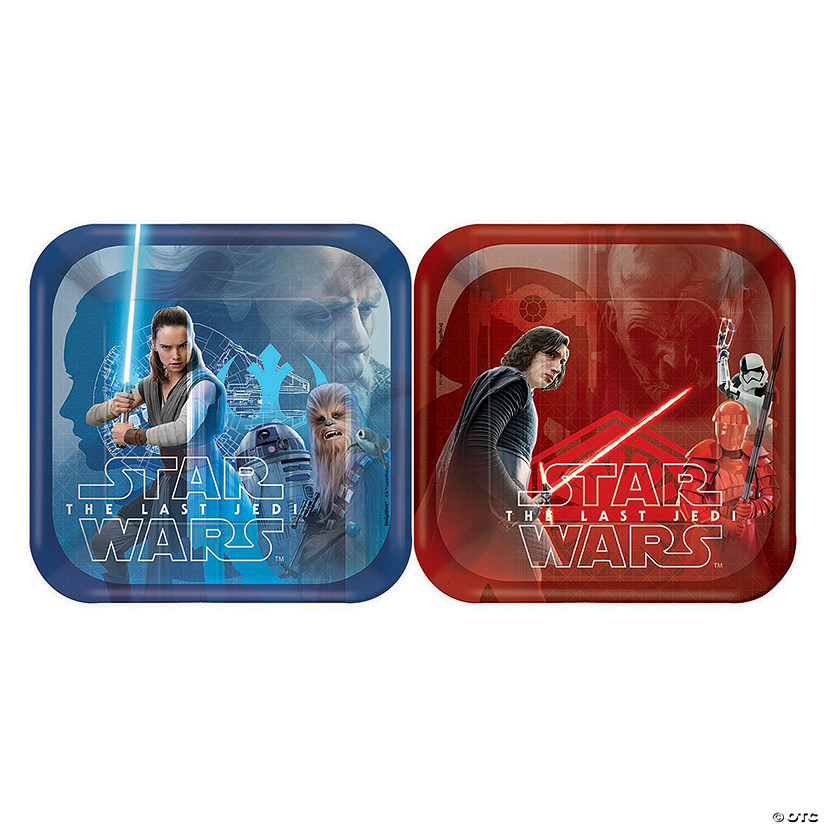 Star Wars™ Episode VIII: The Last Jedi Dessert Paper Plates