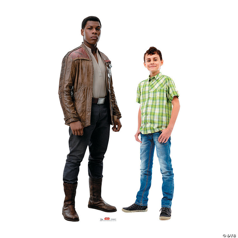 Star Wars™ Episode VIII: The Last Jedi Finn Cardboard Stand-Up