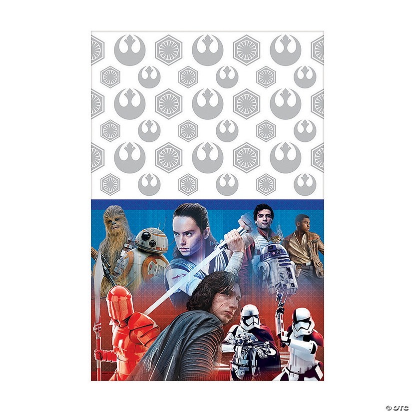 Star Wars™ Episode VIII: The Last Jedi Plastic Tablecloth