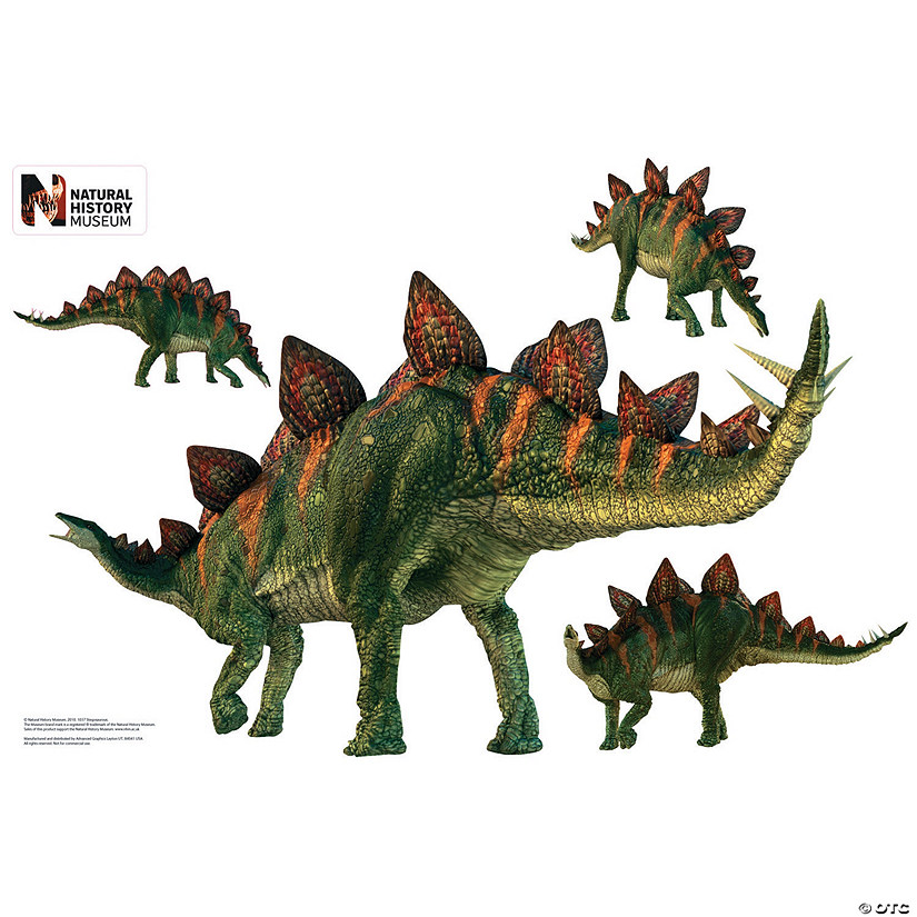 Stegosaurus Layout Wall Jammer™ Wall Decal