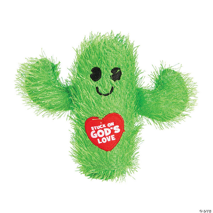 Stuck on God's Love Cactus Plush
