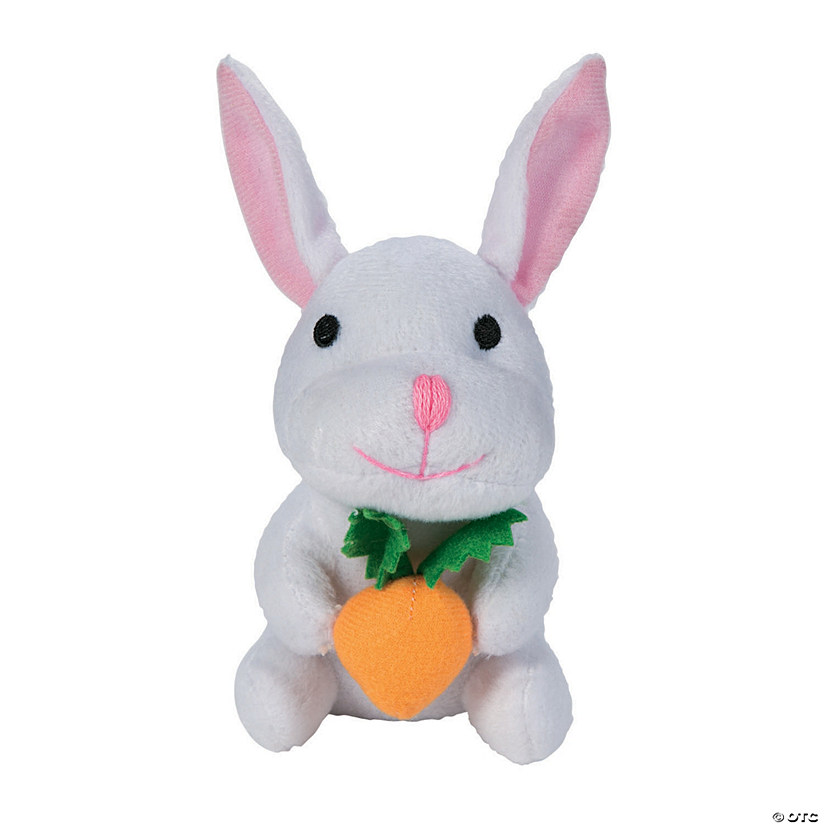 Stuffed Easter Bunnies with Carrots