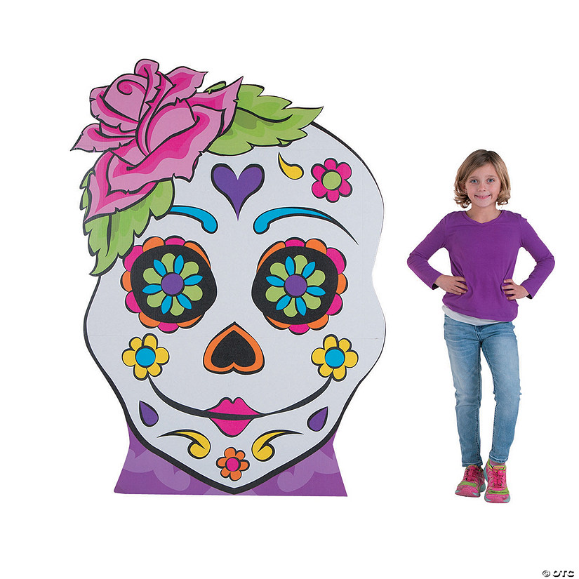 Sugar Skull Girl Stand-Up