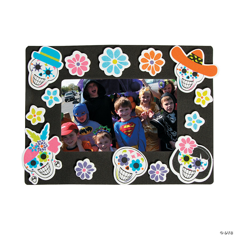 Sugar Skull Picture Frame Magnet Craft Kit