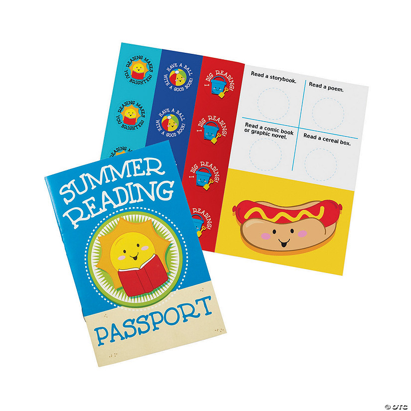 Summer Reading Passports