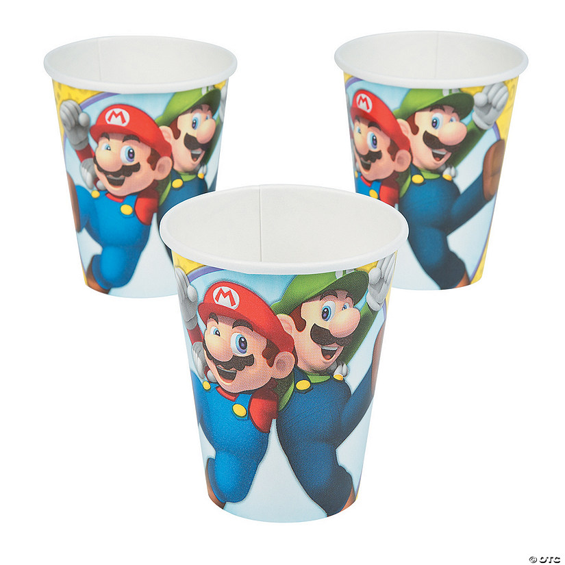 Super Mario Brothers™ Paper Cups