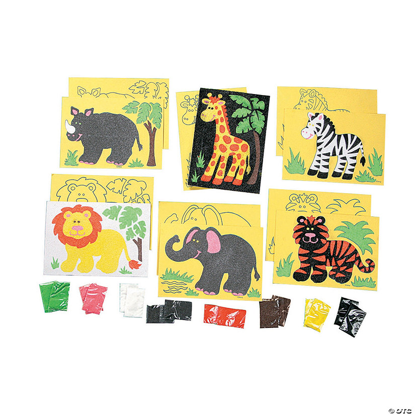 Super Safari Sand Art Sets