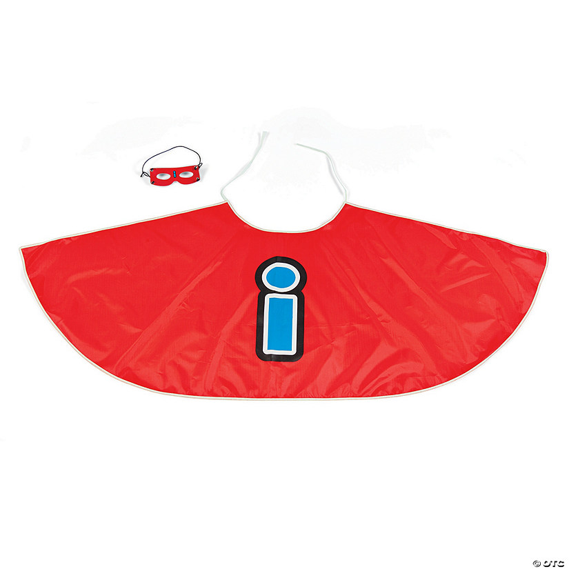 Superhero Capes and Masks with Vowels