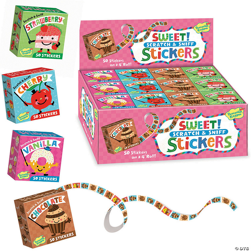 Sweet! Scratch & Sniff Boxed Set