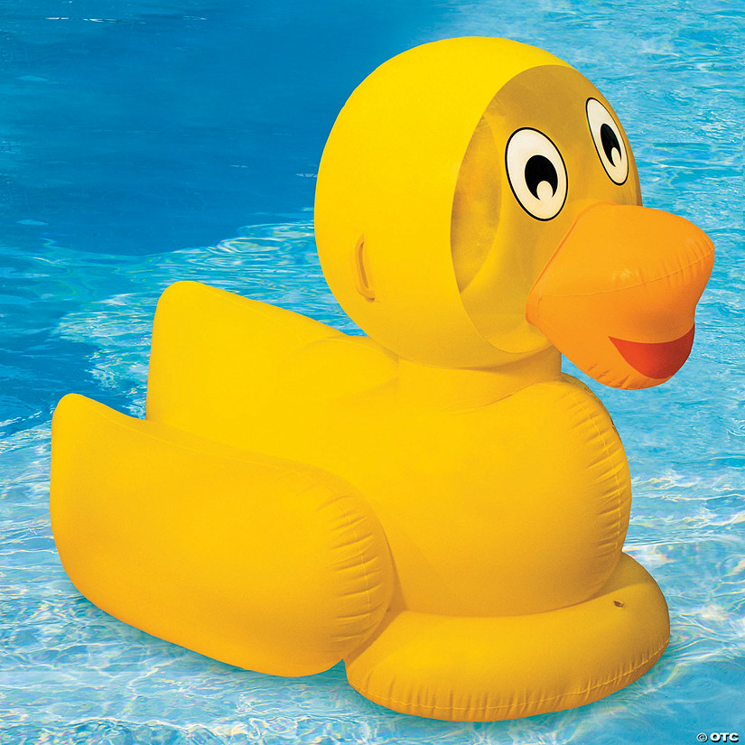 swimline giant inflatable ducky pool float