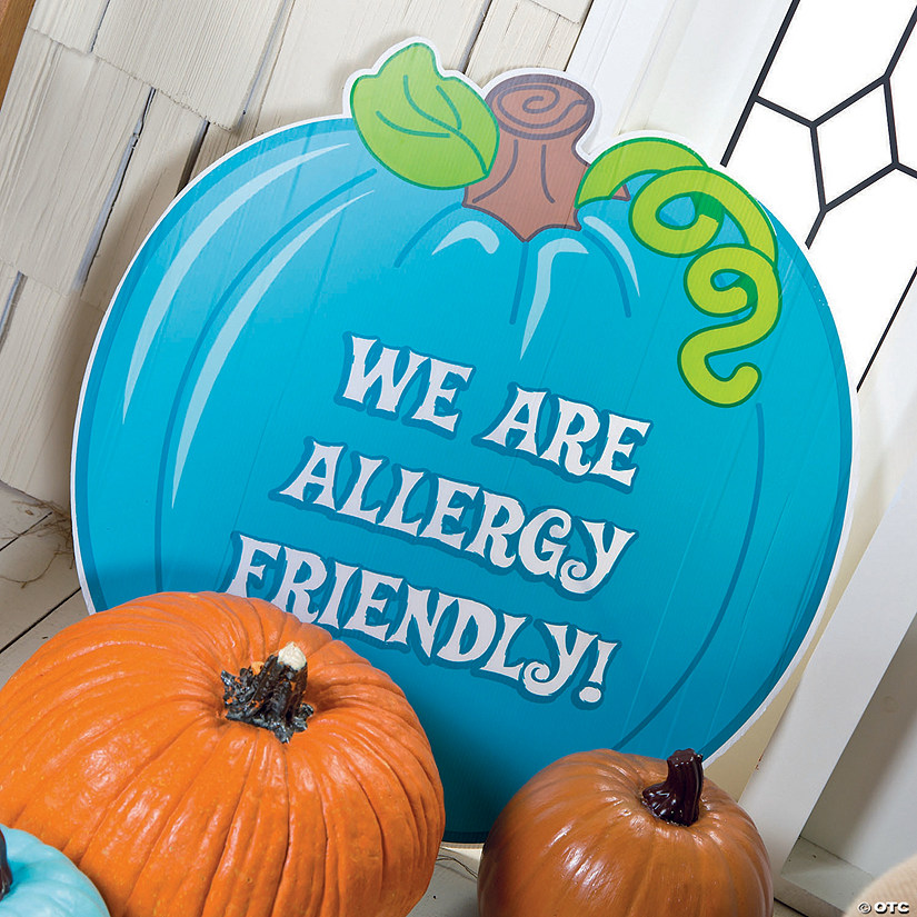 Teal Pumpkin Yard Sign