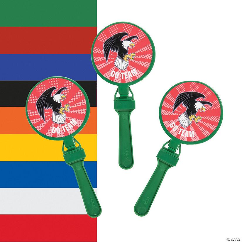 Team Spirit Custom Photo Round Clappers