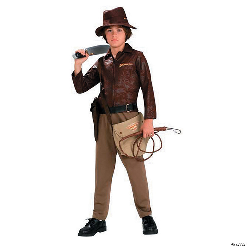 Teen Boy's Deluxe Indiana Jones Costume