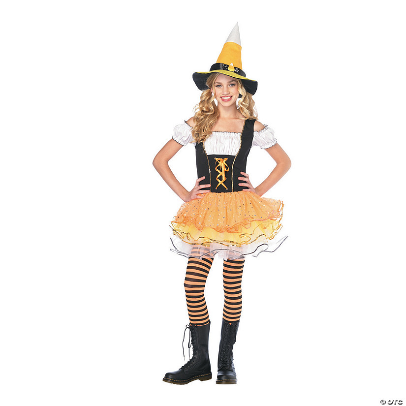 Teen Girl's Candy Spellcaster Jr. Costume