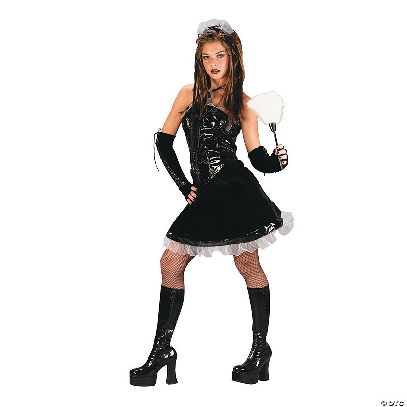 Teen Girl's Corset Maid Costume
