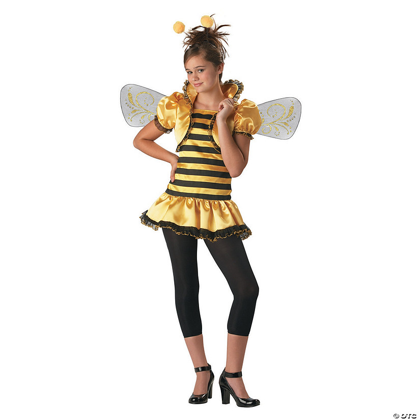 Teen Girl's Honey Bee Costume