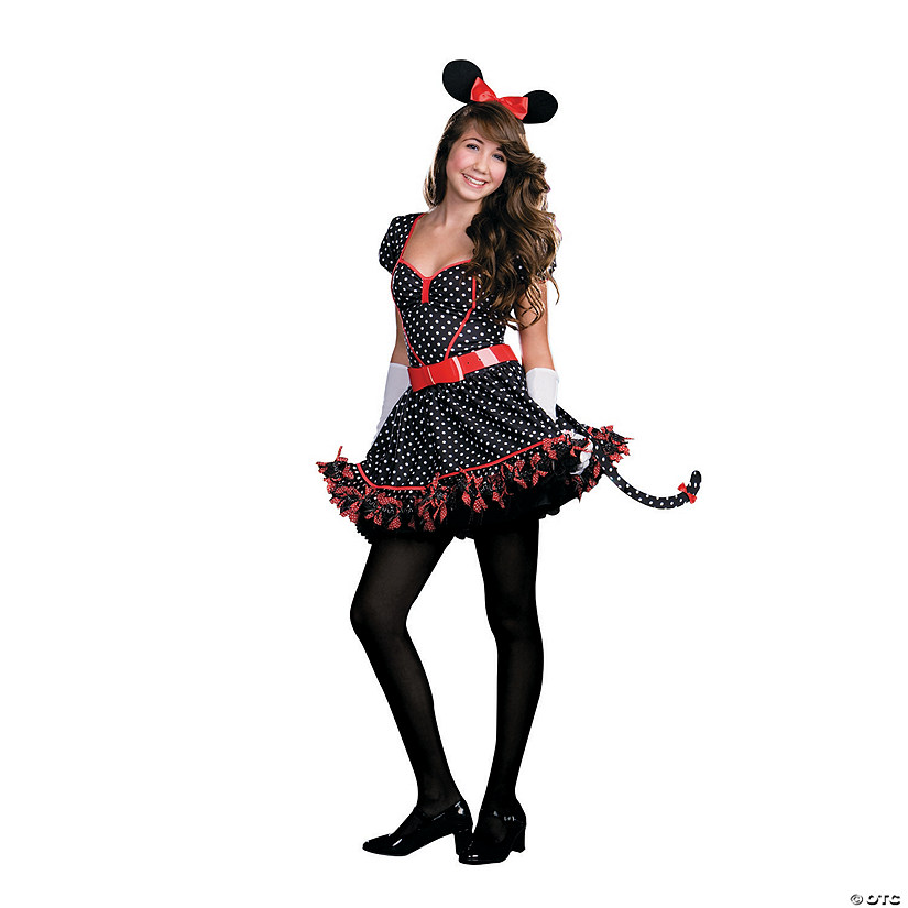 Teen Girl's Junior Mousing Around Costume