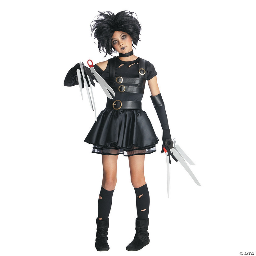 Teen Girl's Miss Scissorhands Costume