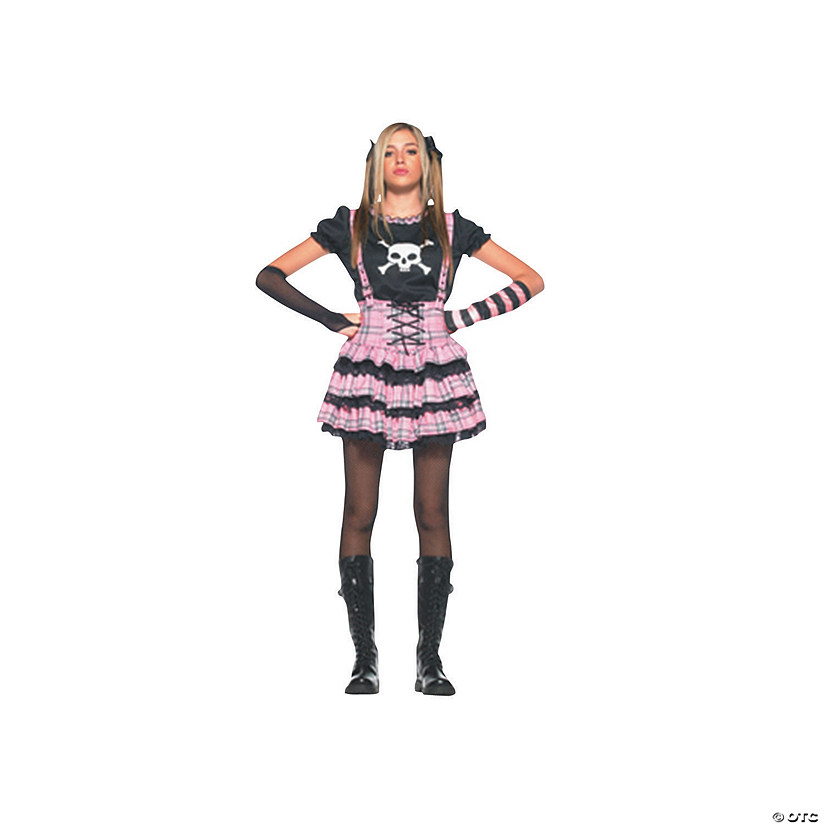 Teen Girl's Punk Rock Princess Costume