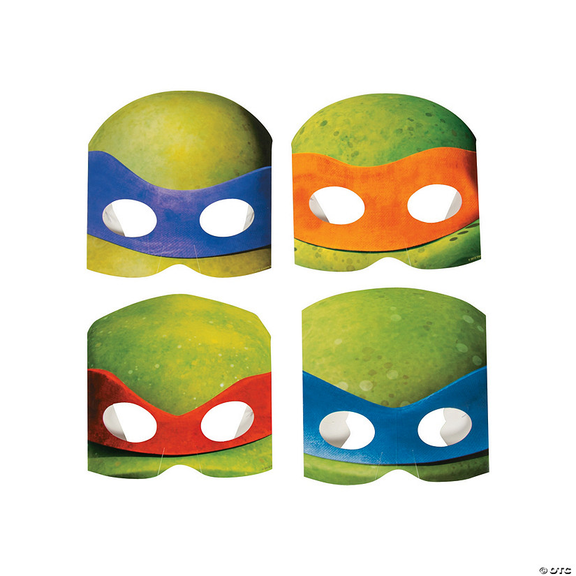Teenage Mutant Ninja Turtles Masks