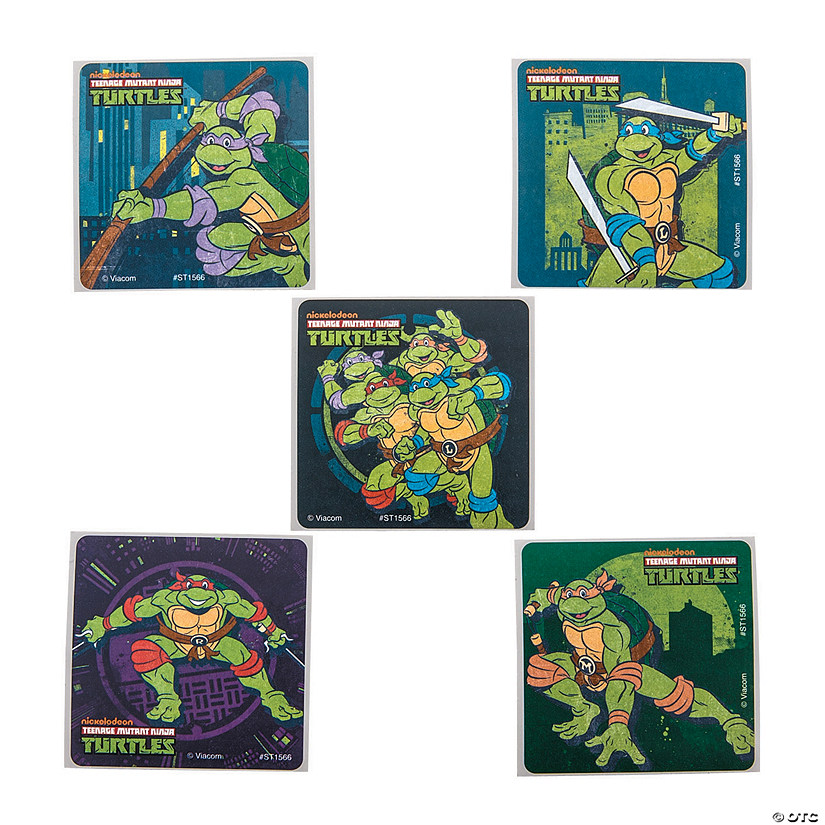 Teenage Mutant Ninja Turtles<sup>®</sup> Classic Stickers