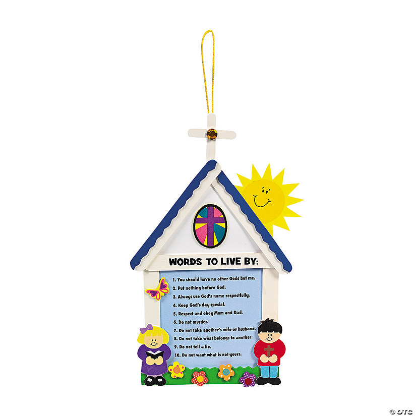 Ten Commandments For Kids Craft Kit