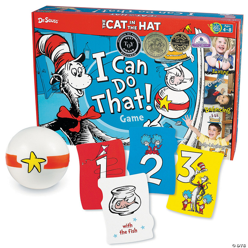The Cat in the Hat I Can Do That! Game