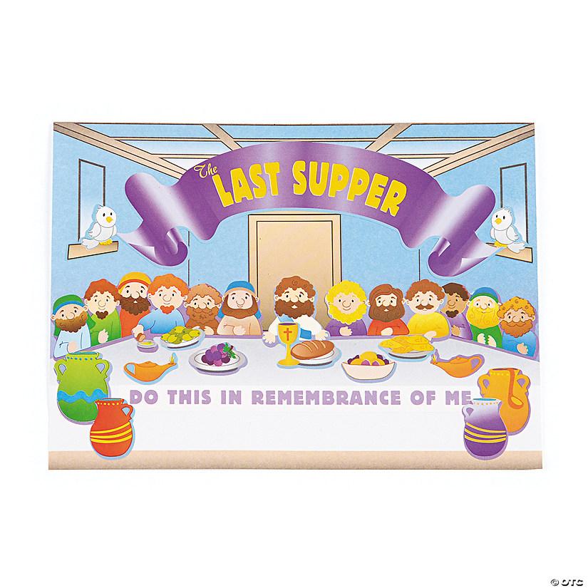 The Last Supper Mini Sticker Scenes