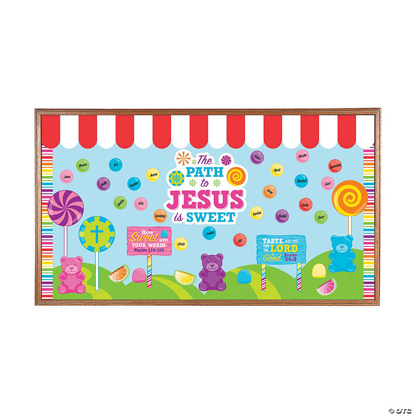 The Path to Jesus is Sweet Bulletin Board Set