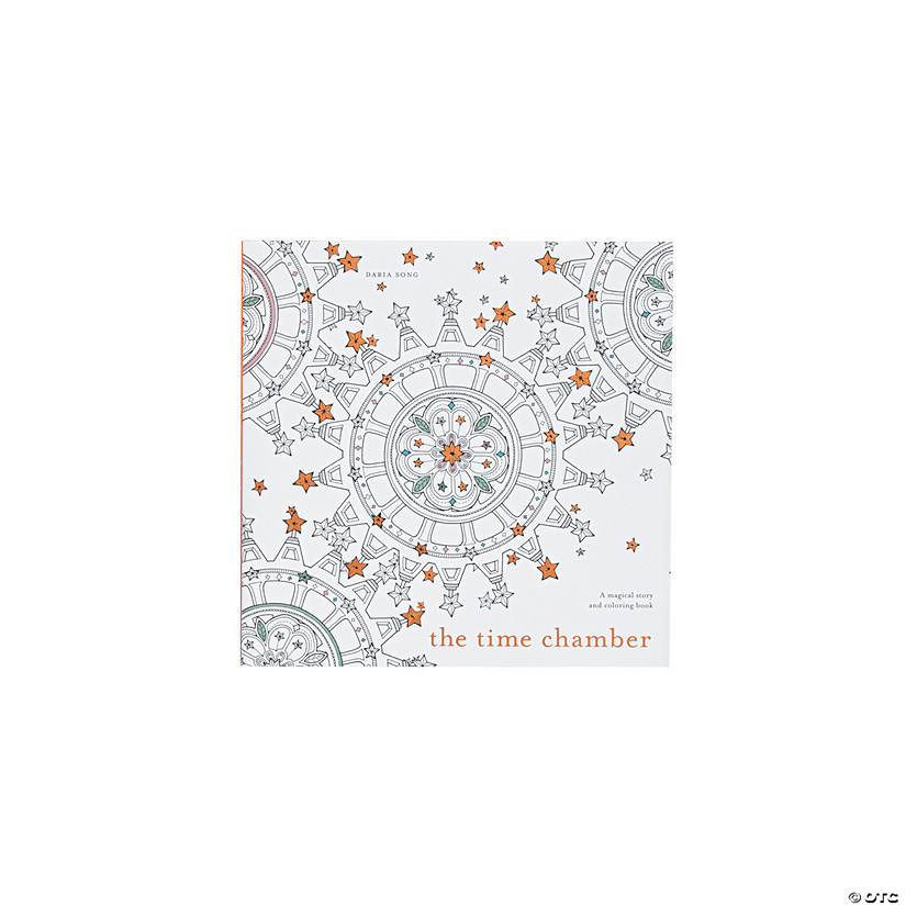 The Time Chamber Adult Coloring Book