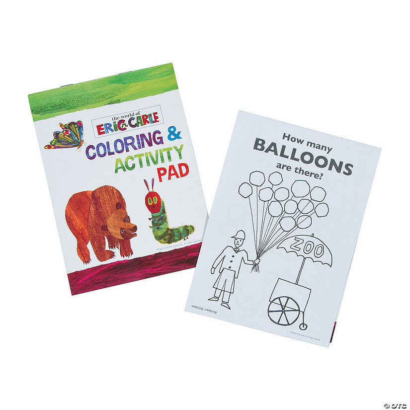 The World of Eric Carle™ Coloring & Activity Books
