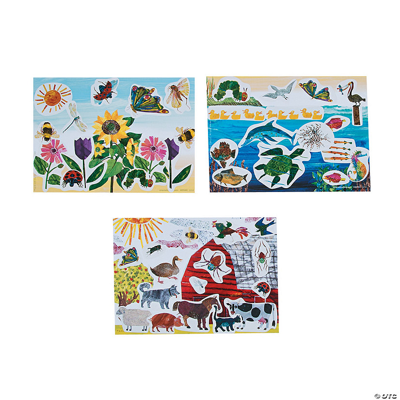 The World of Eric Carle™ Mini Sticker Scenes