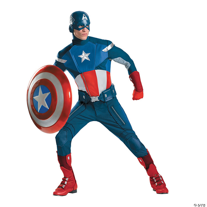 Theatrical The Avengers™ Captain America Halloween Costume for Men