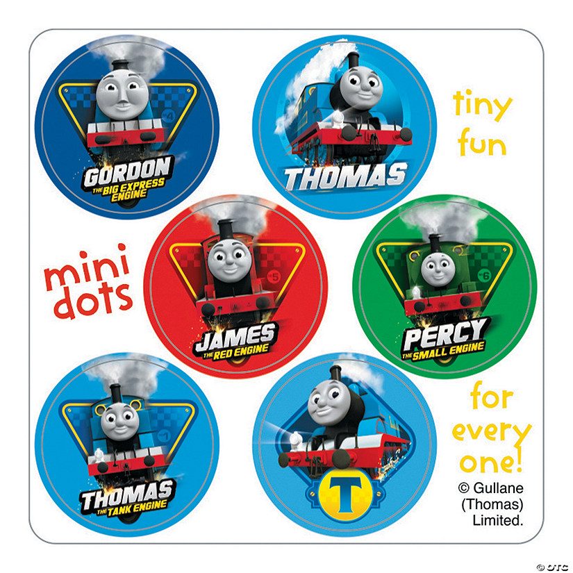 Thomas the Train Mini Dots Stickers