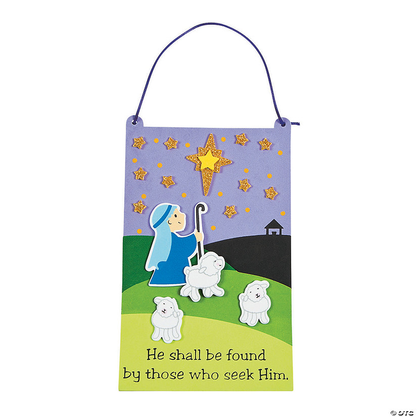 Those Who Seek Him Sign Craft Kit