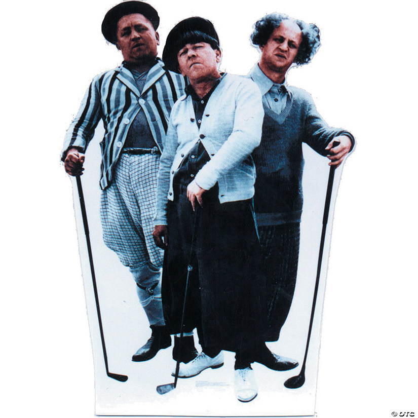 Three Stooges - Golf Cardboard Stand-Up