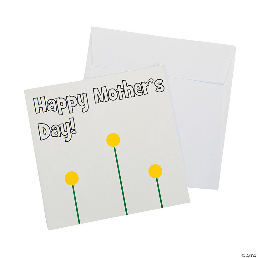 Thumbprint Mother's Day Card Craft Kit
